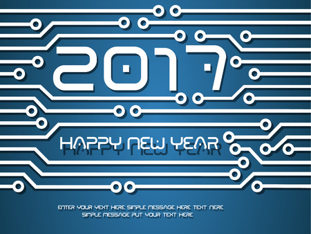 tecnology: 2017 HAPPY NEW YEAR CIRCUIT TECNOLOGY