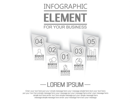 stiker: ELEMENT FOR INFOGRAPHIC  TEMPLATE GEOMETRIC FIGURE STIKER NUMBER OPTION TO SCALE THIRD EDITION WHITE