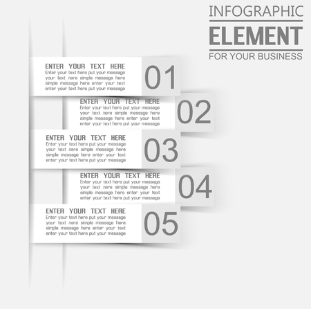 stiker: INFOGRAPHIC TEMPLATE ELEMENT FOR GEOMETRIC FIGURES STIKER WHITE THIRD EDITION