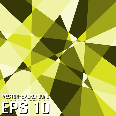 SIMPLE BACKGROUND TEMPLATE ABSTRACT IN MODERN SHADES OF COLOR LOW POLY STYLE YELLOW