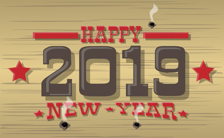 2019 HAPPY NEW YEAR WESTERN