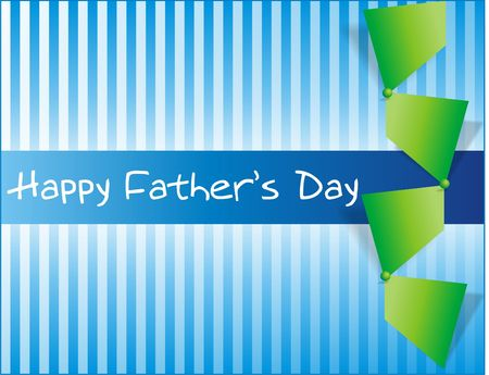 happy people: Happy Fathers Day Note Stock Photo