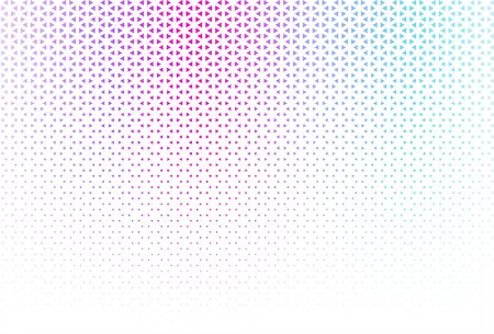 Multicolor geometric abstract background for technology. Vector illustration. Ilustração