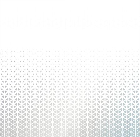 White background with halftone for tech. Vector illustration Banco de Imagens - 147988608
