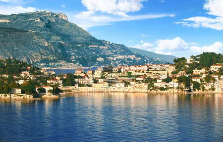 Cap Ferrat peninsula on the French Riviera in France.