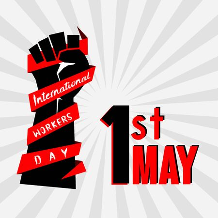 International Worker day, labor day, Labour day, mayday 일러스트