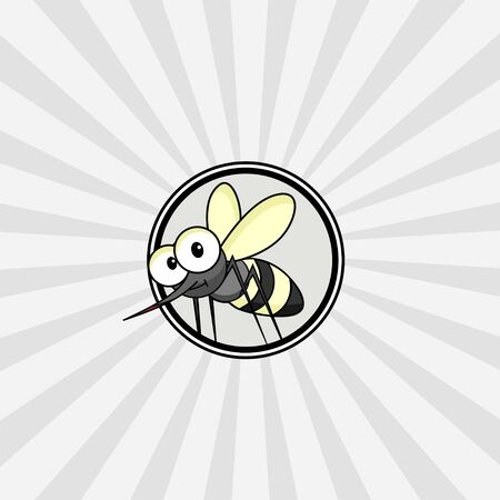 World Mosquito Day Vector Design with mosquito icon logo Illustration