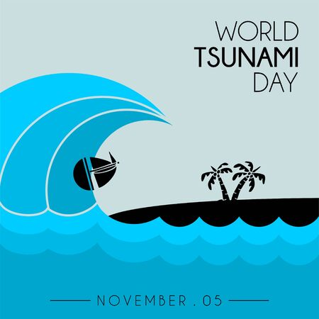 World Tsunami Day, seen from the beach