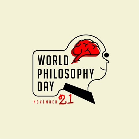 Typography for World Philosophy Day on November 21