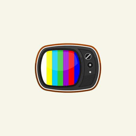 Simple Vintage Classic Television Vector Design