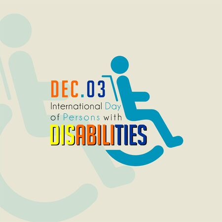 Typography for International Day of Persons with Disabilities on December 3