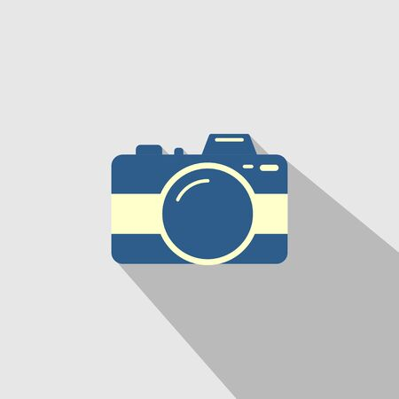 Icon Vector of simple Camera design. Good template for photography, image, camera shoot, etc.