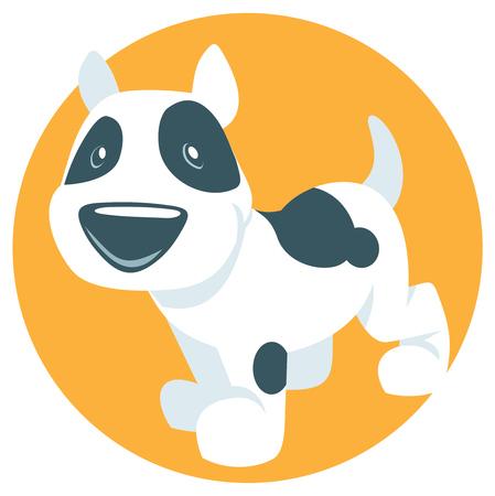 dalmation: Vector cute puppy