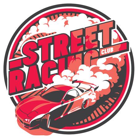 Burnout car, Japanese drift sport, Street racing