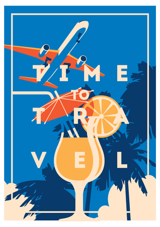 Time to Travel and Summer Holiday poster.