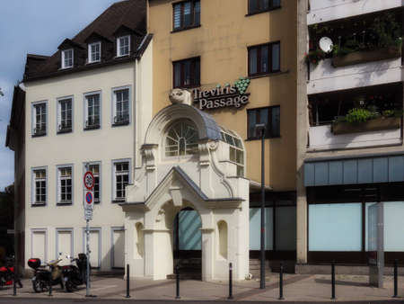 Treviris Passage shopping centre in Trier, Rhineland-Palatinate, Germany - September 1, 2020
