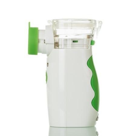 Ultrasonic mesh nebulizer, isolated on white