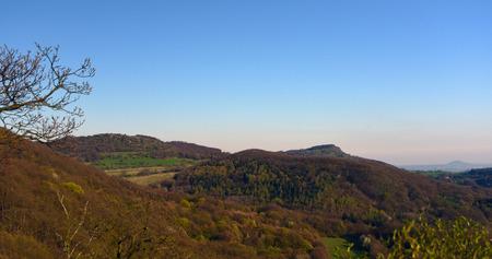 ceske: Ceske Stredohori mountains in spring time