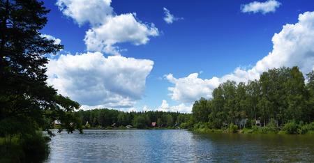 ceske: Pond in south Bohemia named Dubensky near Sevetin village