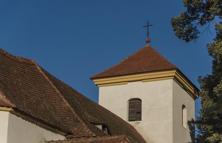 nad: Church in Zezice village near Usti nad Labem village Stock Photo