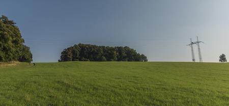 ceske: Ceske Stredohori mountains in sunny summer time Stock Photo