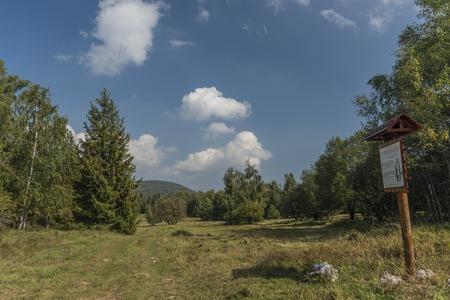 Slovakia karst in summer hot day with sun Stock Photo