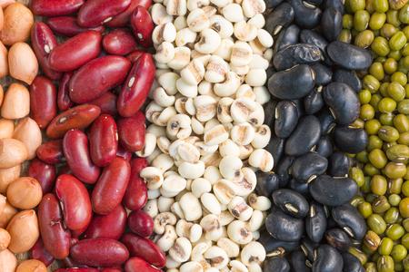 mung: Different kinds of bean seeds