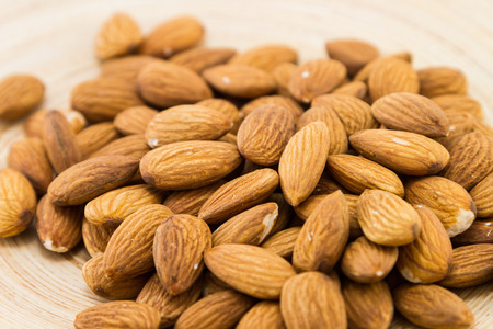 Raw organic almonds
