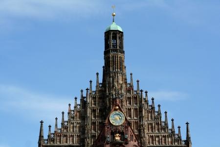 glaube: Church - Frauenkirche in Nuremberg