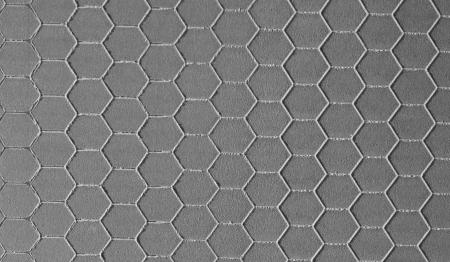 Gray hexagonal background photo