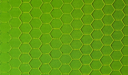hexagonal pattern: Green hexagonal background