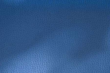 Blue toned leather background