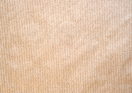 tileable: Frontal image of a brown striped paper ackground. Stock Photo
