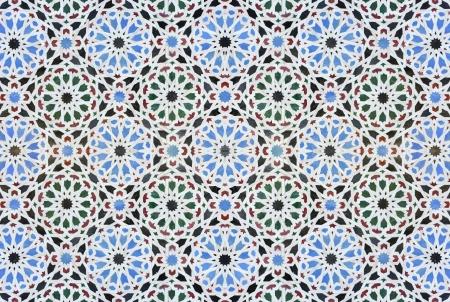Seamless tileable oriental background Zdjęcie Seryjne