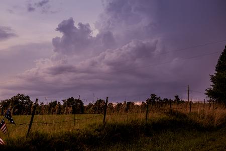 thunderhead: summer storm Stock Photo