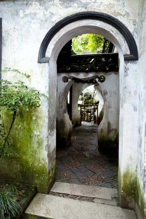 Ancient Chinese Yu Yuan Garden in Shanghai, China