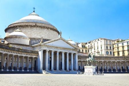 plebiscite: Church of San Francesco di Paola of Piazza del Plebiscito,Naples