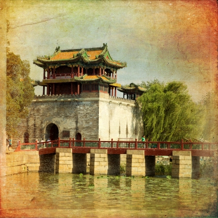 kunming: The beautiful view of the Summer Palace in Beijing, China