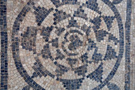 ancient roman: Ancient Roman mosaics in Sabratha, Libya