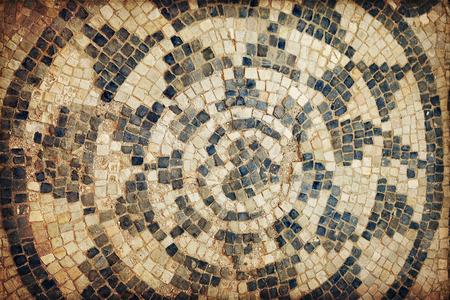 abandonment: Ancient Roman mosaics in Sabratha, Libya