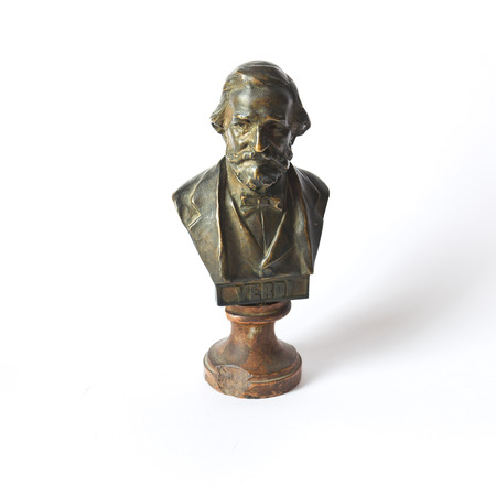 Bust of Giuseppe Verdi photo