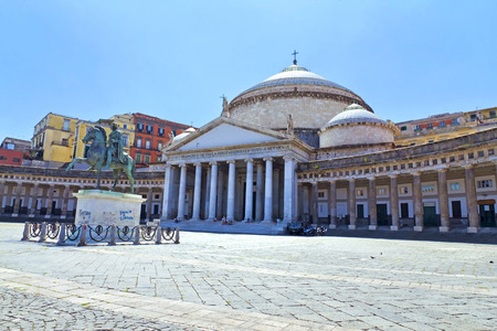 Church of San Francesco di Paola of Piazza del Plebiscito, Naples