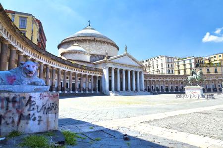plebiscite: Church of San Francesco di Paola of Piazza del Plebiscito, Naples
