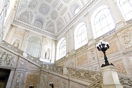 plebiscite: Royal Palace in Naples, Piazza del Plebiscito, Italy