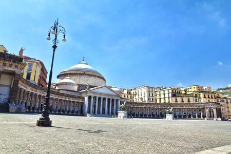 francesco: Church of San Francesco di Paola of Piazza del Plebiscito, Naples