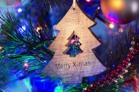 beautiful christmas ornaments on the christmas tree stock photo 27340205 - Beautiful Christmas Ornaments