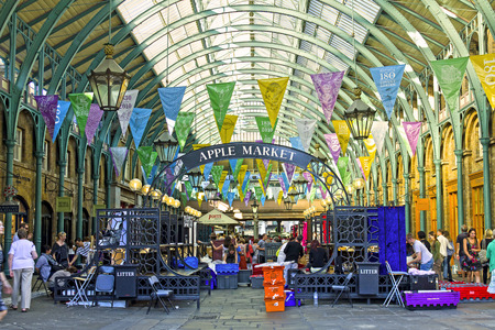 Covent Garden Market. One Of The Main London Attractions, Covent ...
