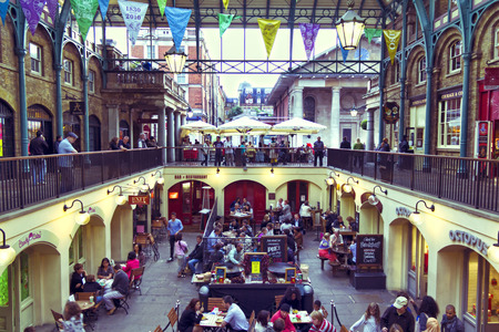 Covent Garden Market. One of the main London attractions, Covent Garden was for many years the main fruit and vegetables market in London