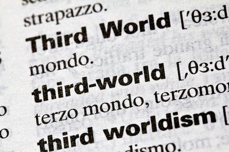 literal: Third World, literal definition
