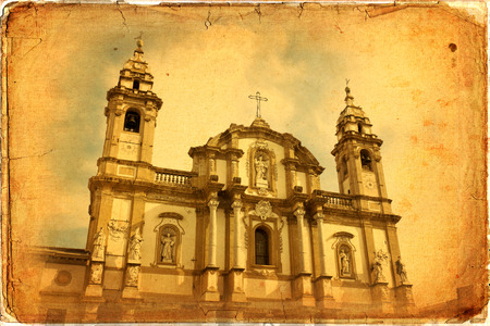 palermo   italy: Church of Saint Dominic in Palermo, Italy